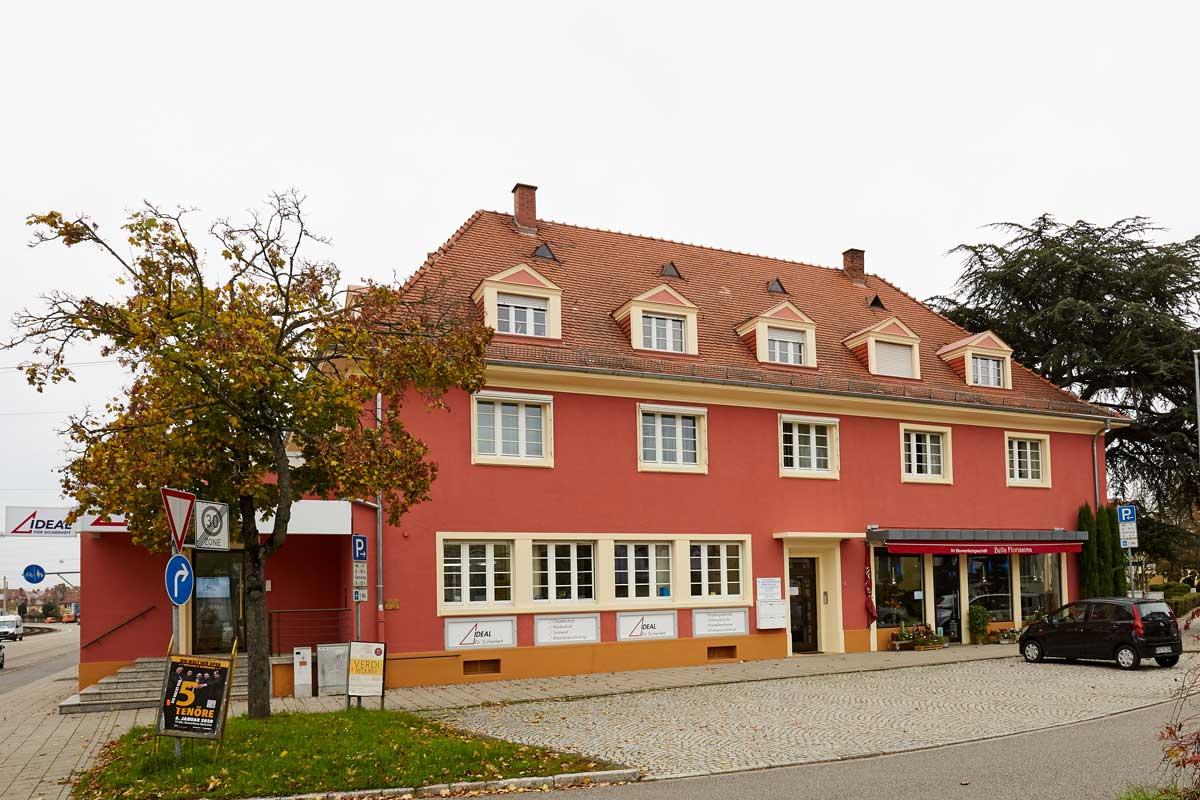 001 Fassade Karlsruhe Diakonissenstraße 1