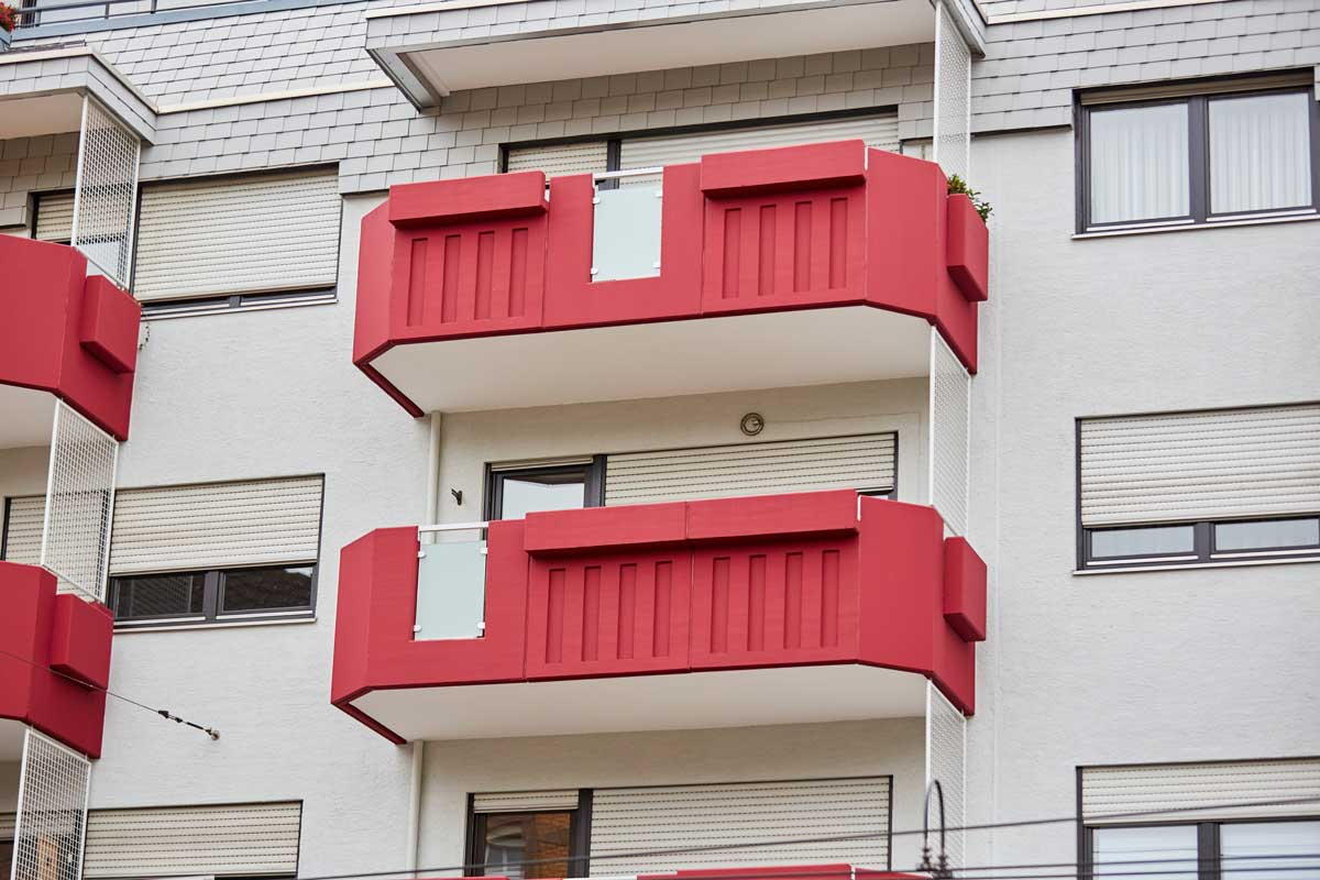 003 Fassade Rüppurer Straße